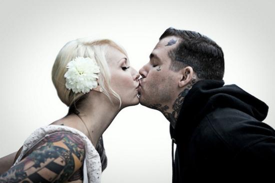 Fotos de casais tatuados para o dia dos namorados 38