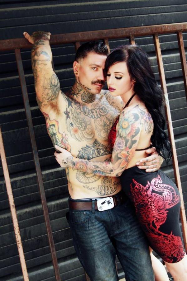 Fotos de casais tatuados para o dia dos namorados 40