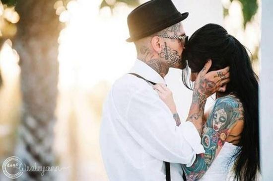 Fotos de casais tatuados para o dia dos namorados 41
