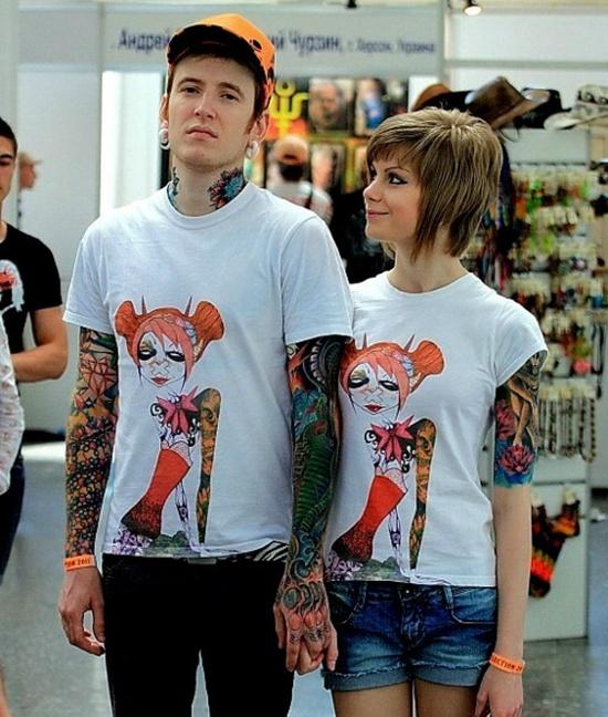 Fotos de casais tatuados para o dia dos namorados 44