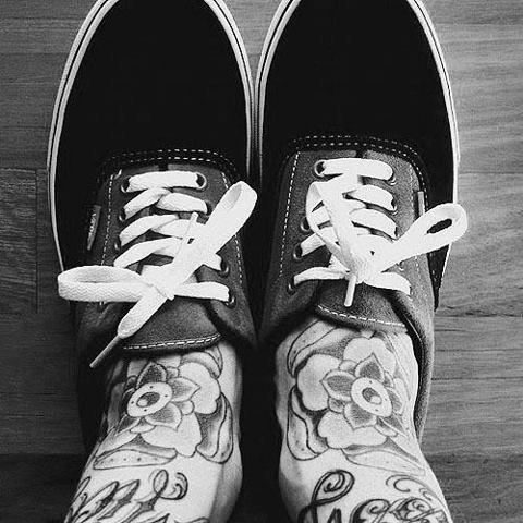 Fotos de tatuagens nos pes - Tattooed Feet 05