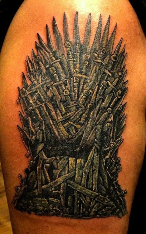 Tatuagem Game If Thrones - Game Of Thrones Tattoo 01