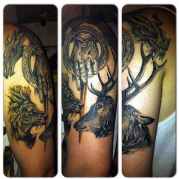 Tatuagem Game If Thrones - Game Of Thrones Tattoo 03
