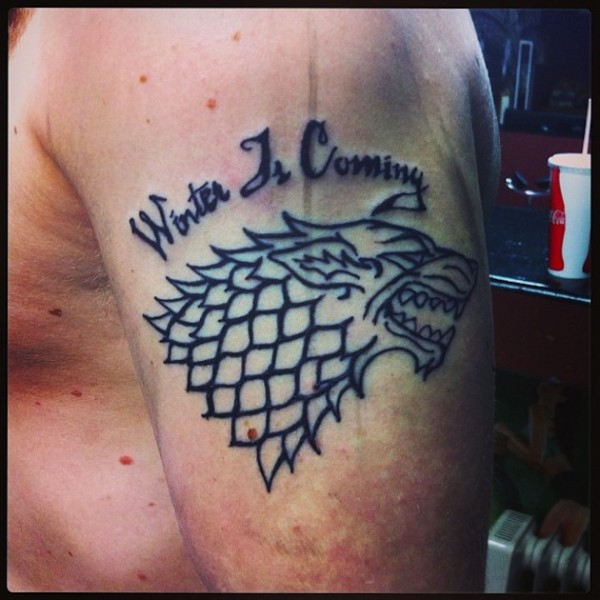 Tatuagem Game If Thrones - Game Of Thrones Tattoo 06