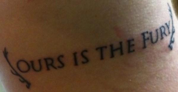 Tatuagem Game If Thrones - Game Of Thrones Tattoo 13