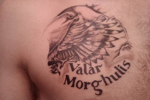 Tatuagem Game If Thrones - Game Of Thrones Tattoo 28