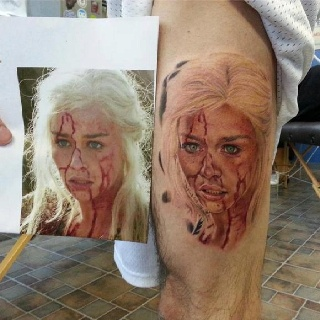 Tatuagem Game If Thrones - Game Of Thrones Tattoo 36