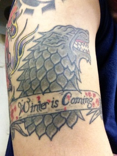 Tatuagem Game If Thrones - Game Of Thrones Tattoo 38