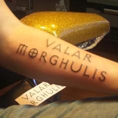 Tatuagem Game If Thrones - Game Of Thrones Tattoo 43