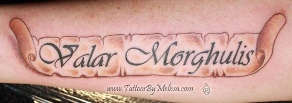 Tatuagem Game If Thrones - Game Of Thrones Tattoo 45