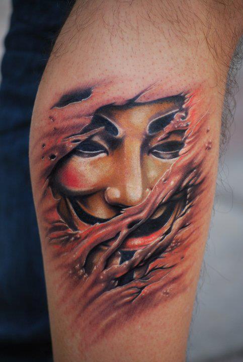 Tatuagens de V de Vinganca 06