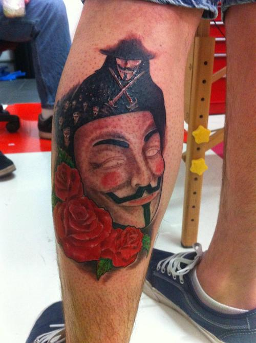 Tatuagens de V de Vinganca 07