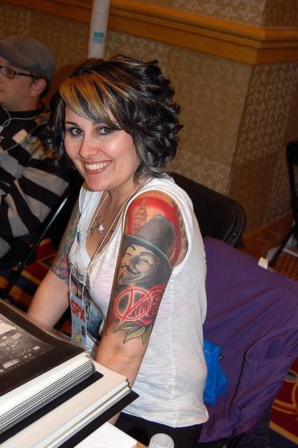 Tatuagens de V de Vinganca 10