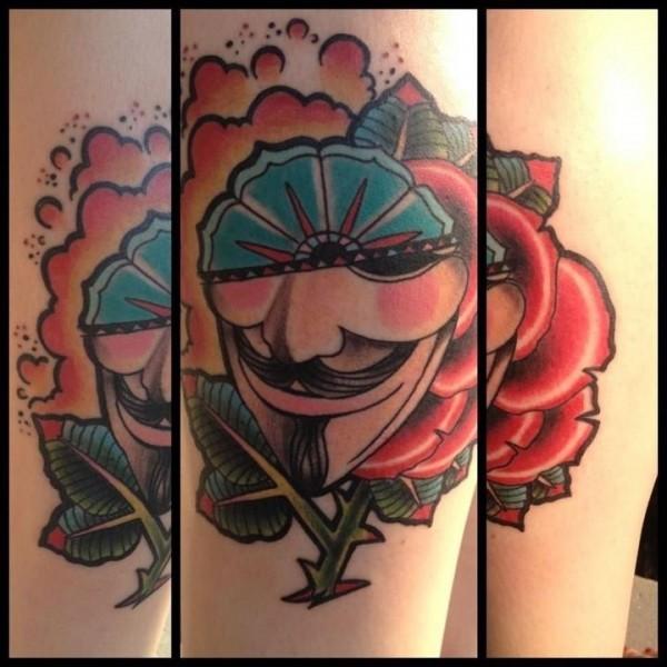 Tatuagens de V de Vinganca 12