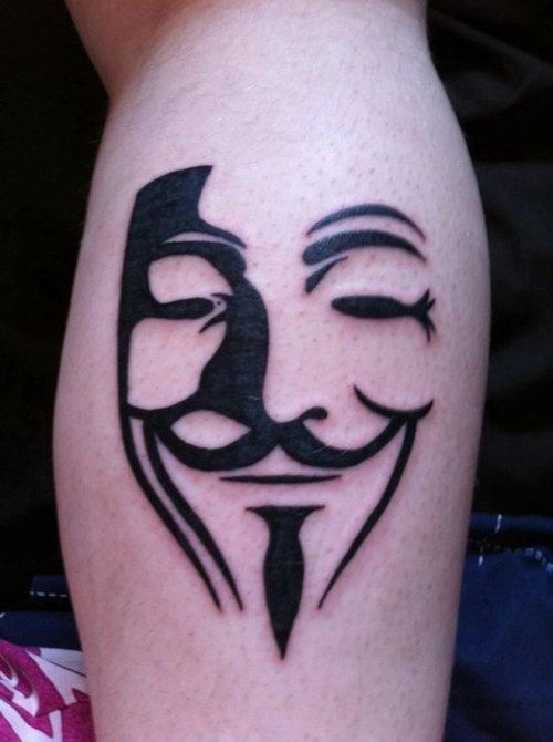 Tatuagens de V de Vinganca 16