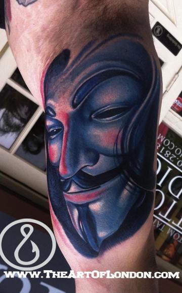 Tatuagens de V de Vinganca 18