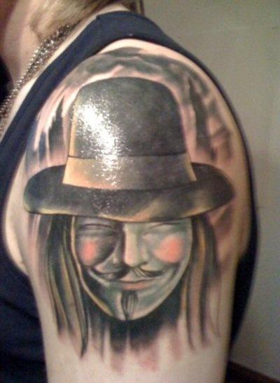 Tatuagens de V de Vinganca 21