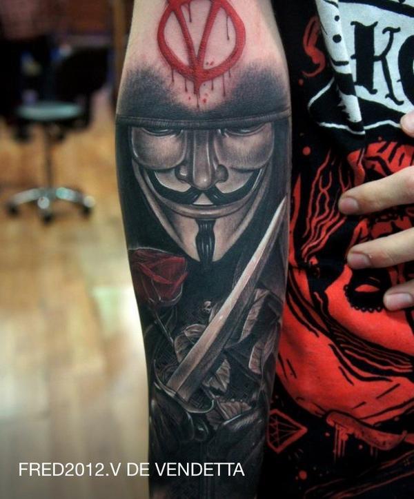 Tatuagens de V de Vinganca 25