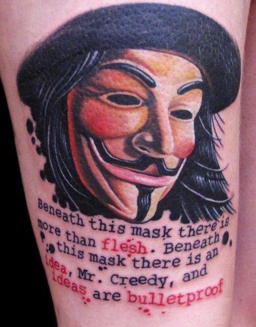 Tatuagens de V de Vinganca 27