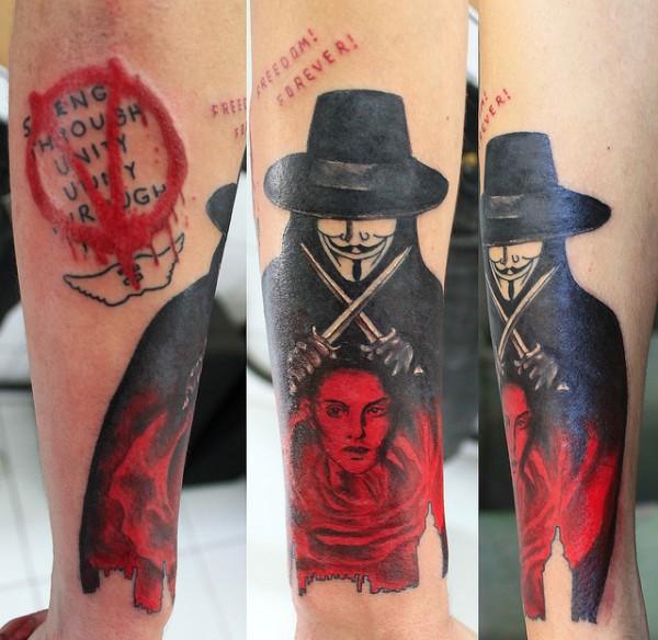 Tatuagens de V de Vinganca 28