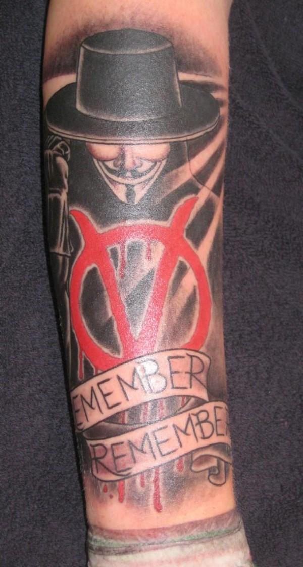 Tatuagens de V de Vinganca 30