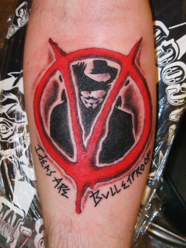 Tatuagens de V de Vinganca 32
