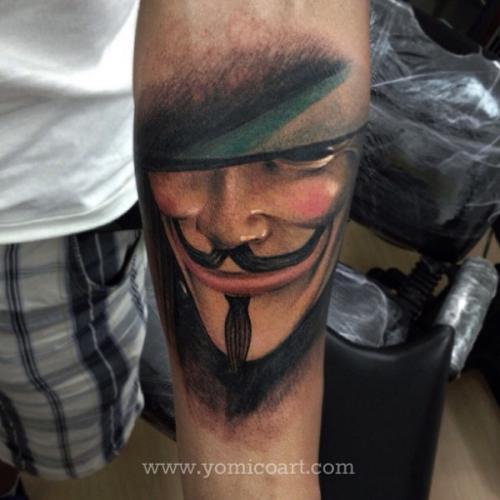 Tatuagens de V de Vinganca 33