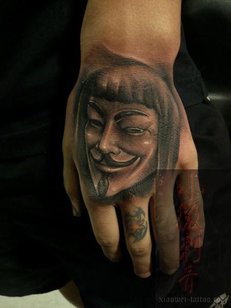 Tatuagens de V de Vinganca 44