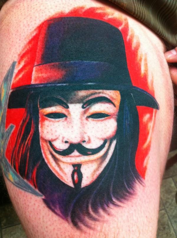 Tatuagens de V de Vinganca 45