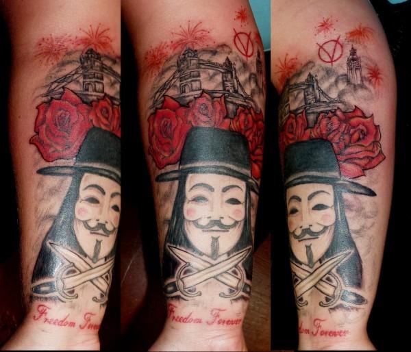 Tatuagens de V de Vinganca 46