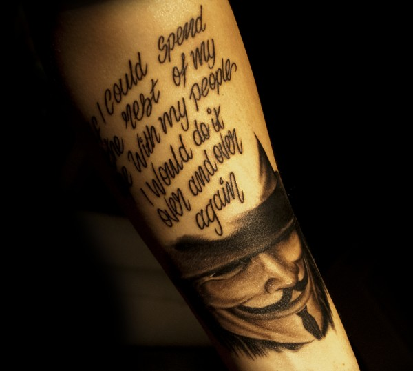 Tatuagens de V de Vinganca 50