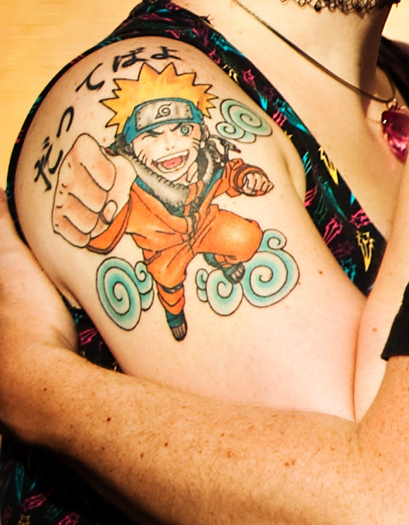 Tatuagens do anime Naruto 01