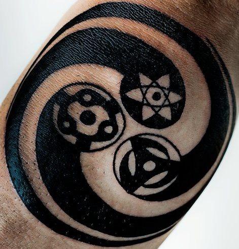 Tatuagens do anime Naruto 08