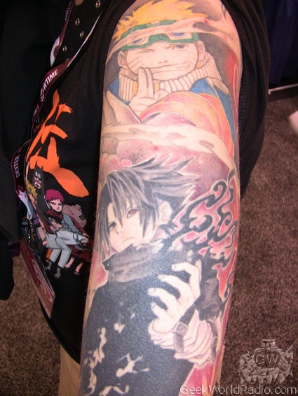 Tatuagens do anime Naruto 12