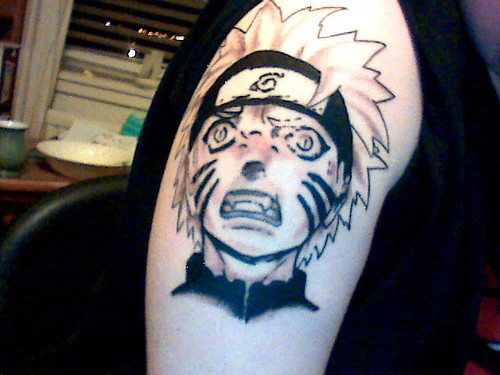 Tatuagens do anime Naruto 30