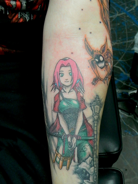 Tatuagens do anime Naruto 37
