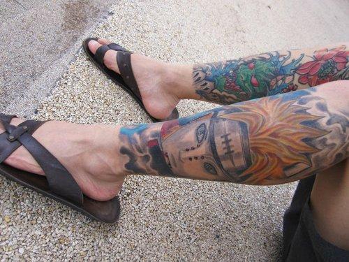 Tatuagens do anime Naruto 40