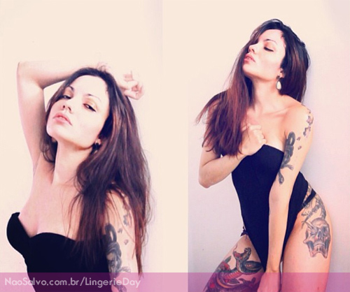 Tatuadas do Lingerie Day 2013 13