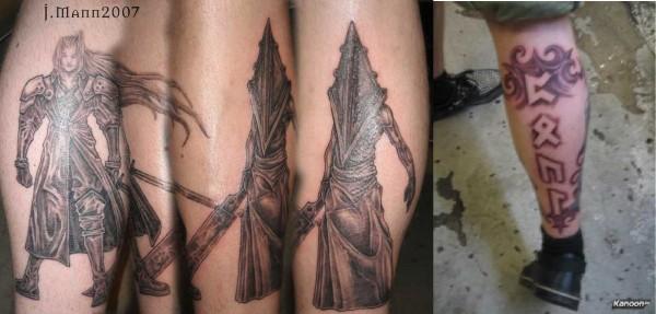 Tatuagens de Silent Hill 33
