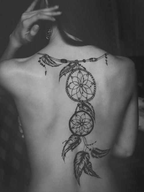 tatuagem de apanhador de sonhos 01