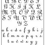 Fonte para tatuagem – Fonte Annabel Script