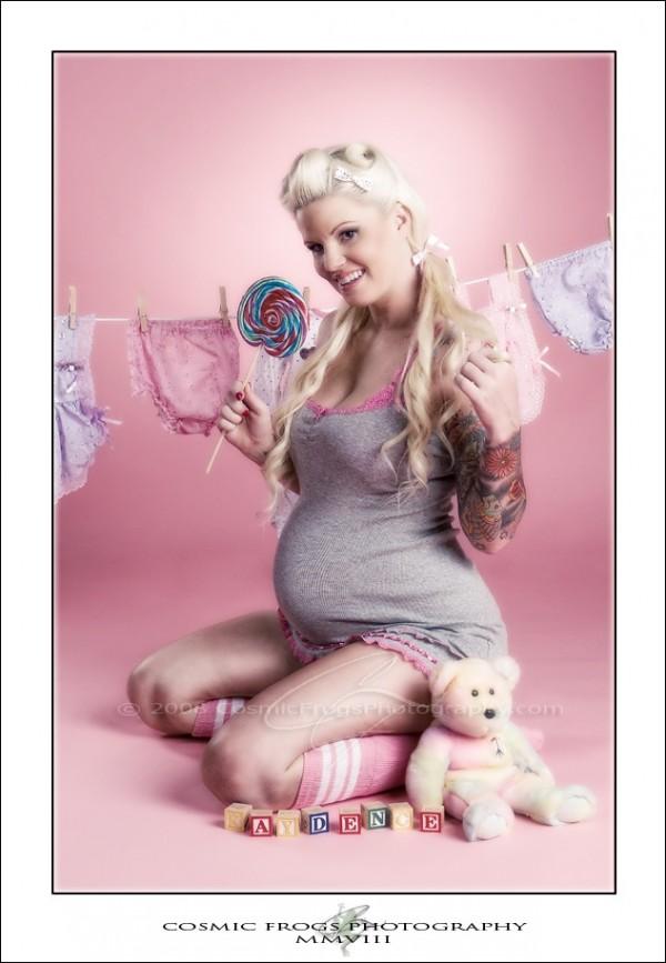 Fotos de grávidas tatuadas 12