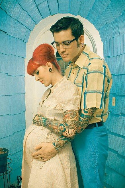 Fotos de grávidas tatuadas 21