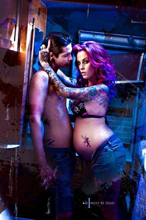 Fotos de grávidas tatuadas 28