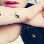 70 Tatuagens de Dente de Leão e seu significado