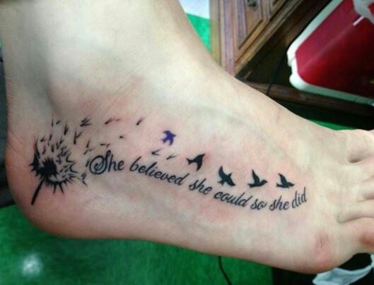 Tatuagem de Dente de Leao 15
