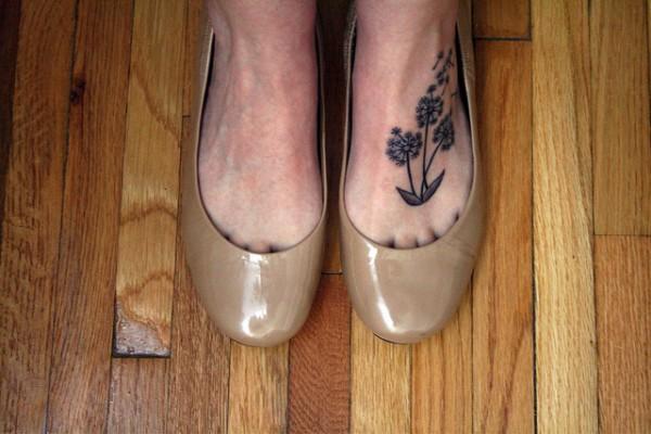 Tatuagem de Dente de Leao 55