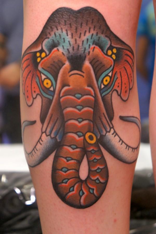 Tatuagem de mamute 06