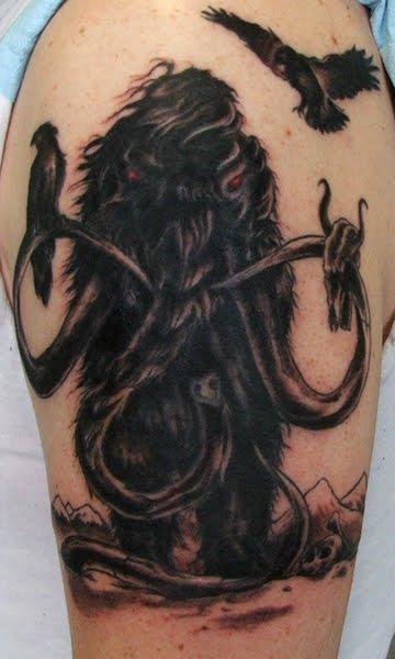 Tatuagem de mamute 14