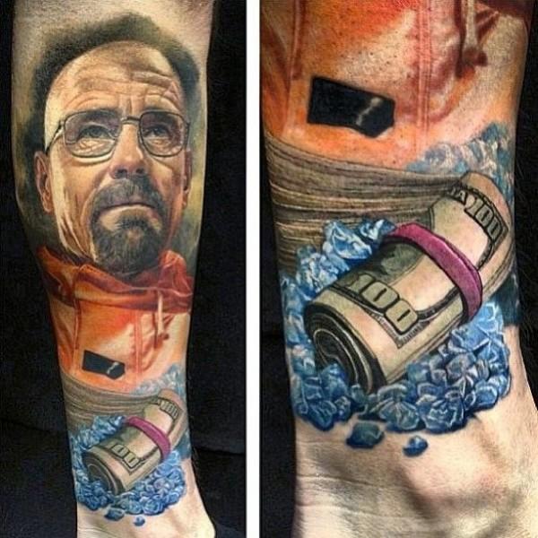 Tatuagens da serie Breaking Bad 01
